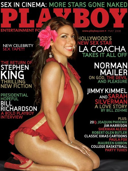 La Coacha Does Playboy