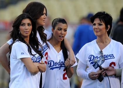 Kardashians-Dodgers