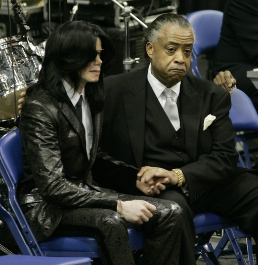 Michael Jackson-Rev. Sharpton