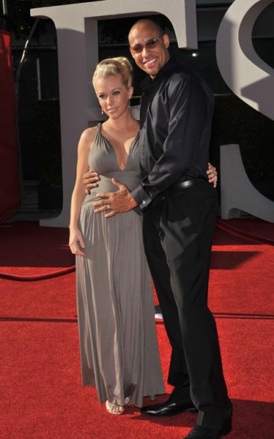 kendra-wilkinson-hank baskett 2009 ESPY Awards